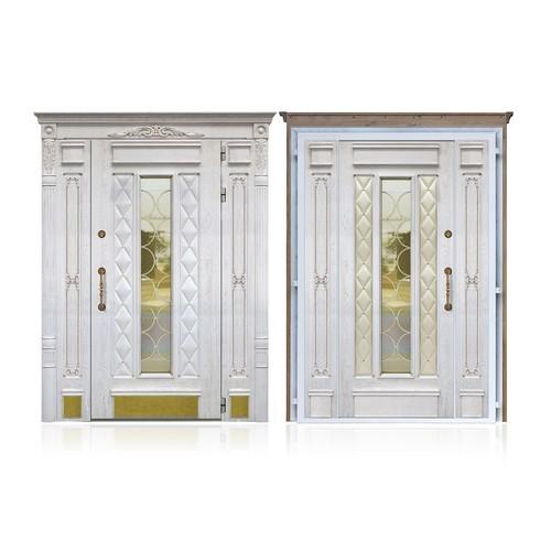 Входные двери «Двустворчатая дверь 1»