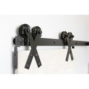 Дверные механизмы и фурнитура «Раздвижной механизм Лофт 1» в Саратове