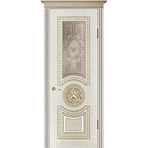 Межкомнатные двери «Леон , стекло» в Саратове