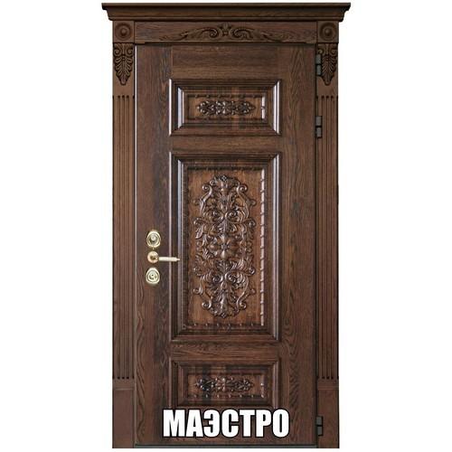 """Входные двери «""""МАЭСТРО"""" -массив дуба»"""