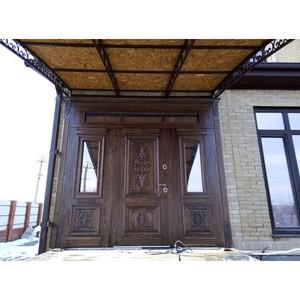 Входные двери «Двустворчатая дверь 7» в Саратове