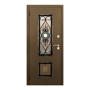 """Входные двери «Двери с окнами . Модель """"СОЛНЦЕ"""".» в Саратове"""