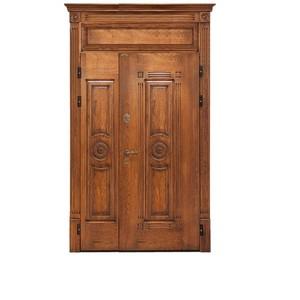 Входные двери «Двустворчатая дверь 3» в Саратове