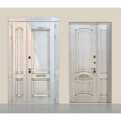 Входные двери «Двустворчатая дверь 2»