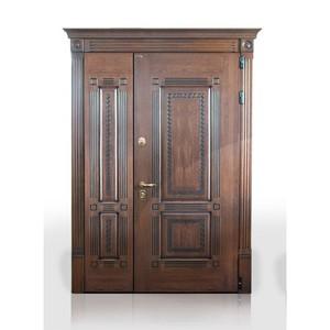 Входные двери «Двустворчатая дверь 10» в Саратове