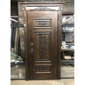 Входные двери «Входные двери с дубовыми панелями» в Саратове