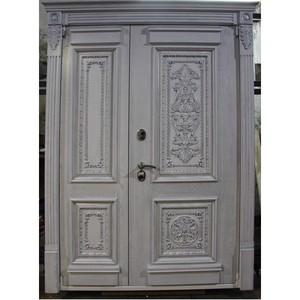 Входные двери «Двустворчатая дверь 4» в Саратове