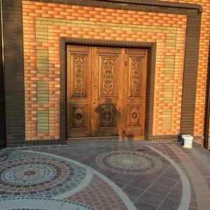 Входные двери «Двустворчатая дверь 9» в Саратове