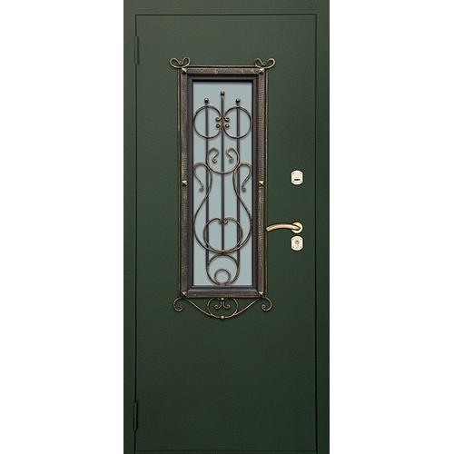 """Входные двери «Входные двери с окнами .Модель """"ЛИРА"""".»"""